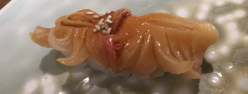 赤貝の握り