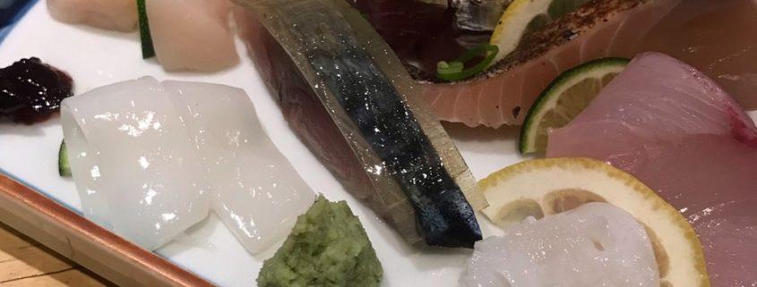 鮮魚の刺身盛合わせ